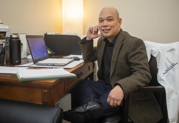 Dr. Mark Lim moved from Maine to become the recovery program medical director at NorthLakes Community Clinic in Ashland, Wisconsin. He wanted to set up a comprehensive practice to treat a range of addictions.