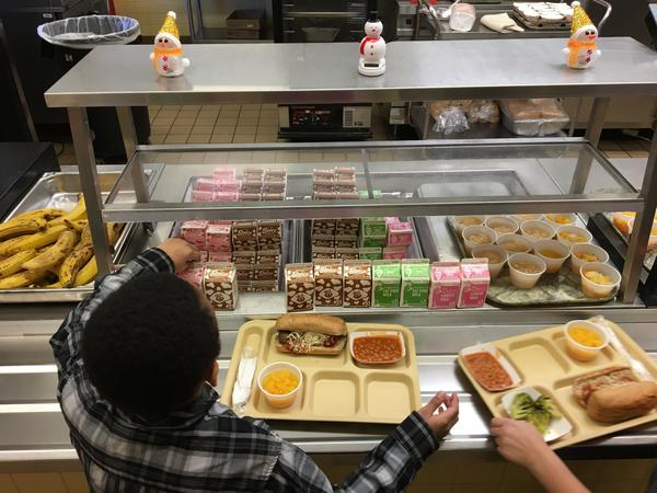 The Trump administration is giving schools more flexibility in the meals they serve. Critics say the rollback on school lunch rules is bad for kids' health.