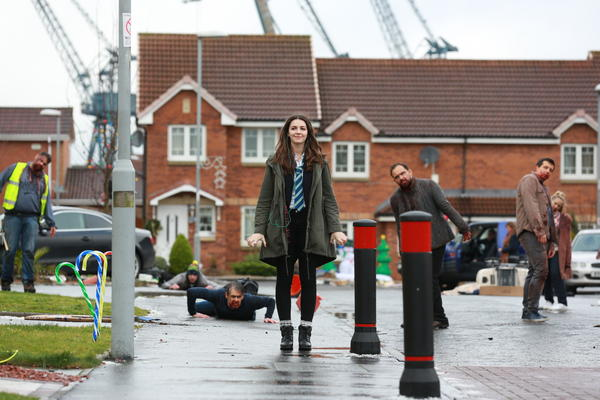 In <em>Anna and the Apocalypse, </em>Ella Hunt plays the titular teenager Anna, who fends off a zombie invasion in song.