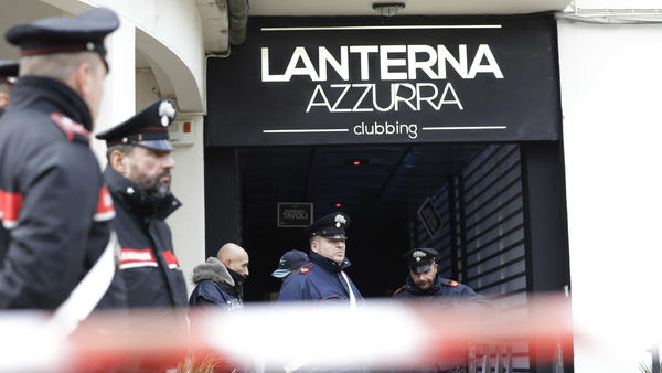 A stampede at an Italian nightclub killed several people, and injured dozens. Italian officials say they are investigating what triggered the stampede.