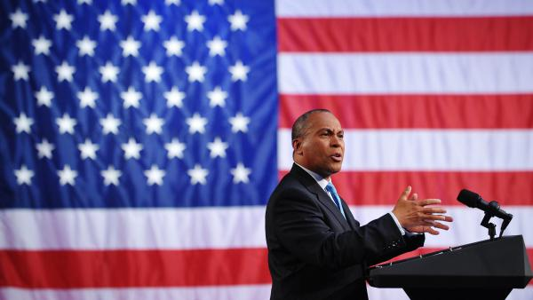 "Former Massachusetts Governor Deval Patrick, pictured above at a 2011 fundraiser, announced this week he would not seek the presidency. ""The process is cruel,"" he said."