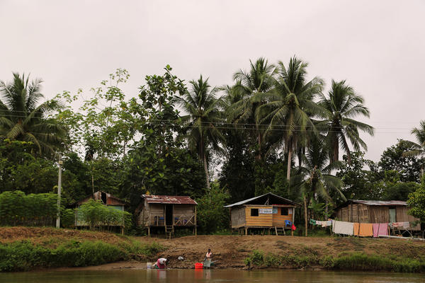 Colombia's Chocó department, on the Pacific Coast, has the highest poverty rate in the country.