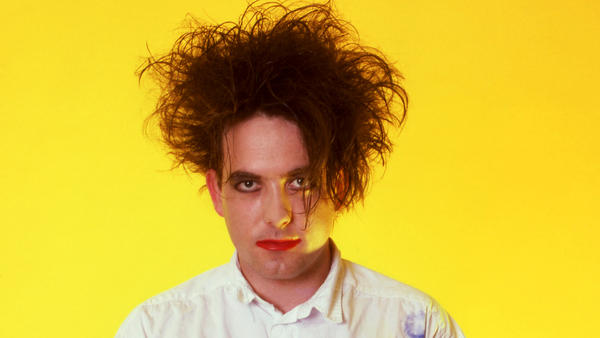 Robert Smith of The Cure, photographed in July 1987. The Cure was among seven acts named as 2019 inductees to the Rock & Roll Hall of Fame.