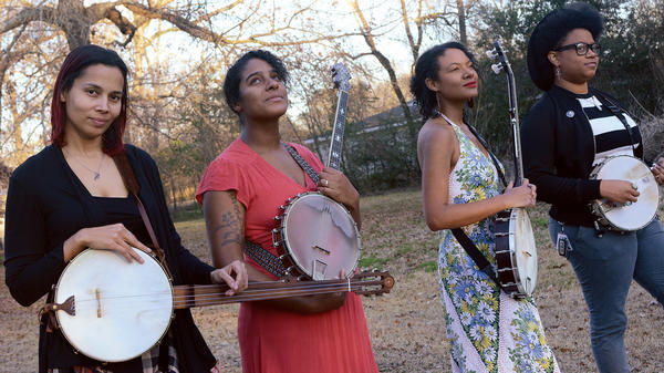 Rhiannon Giddens, Leyla McCalla, Allison Russell and Amythyst Kiah are Our Native Daughters. Their debut album comes out Feb. 22.