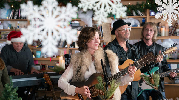 Amy Grant performs a Tiny Desk Concert on Nov. 7, 2018.