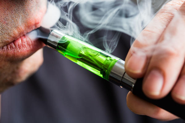 A survey finds 1 in 5 high school seniors was vaping nicotine in 2018.
