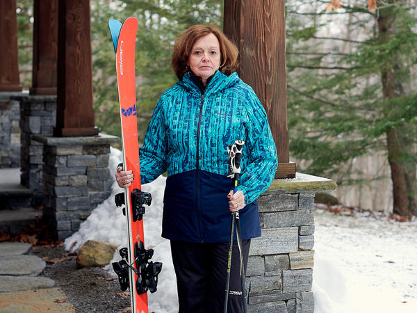 Sarah Witter fractured two bones in her lower left leg while skiing in Vermont last February. She had two operations to repair the damage. The second surgery was needed to replace a metal plate that broke after it was implanted.