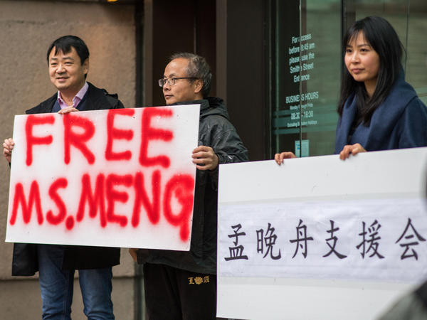 Meng Wanzhou's arrest has caused an uproar.