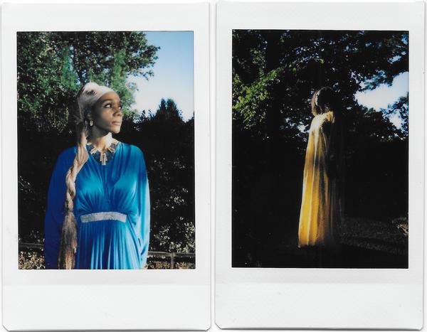 Asaati Nadi (left) and Hamida Ibrahim at Meridian Hill Park in Washington, D.C., on June 15.