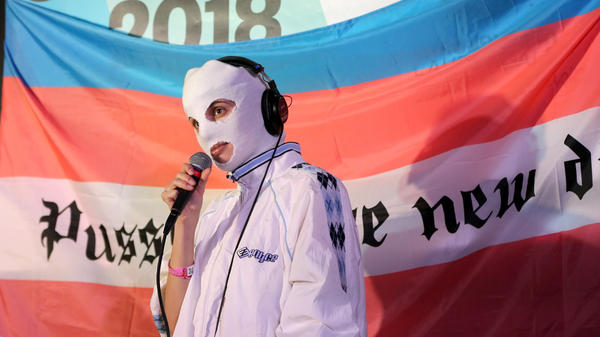 Pussy Riot's performance at SXSW — one of Ann Powers' favorite concert experiences of 2018 — felt like an occupation of the senses.