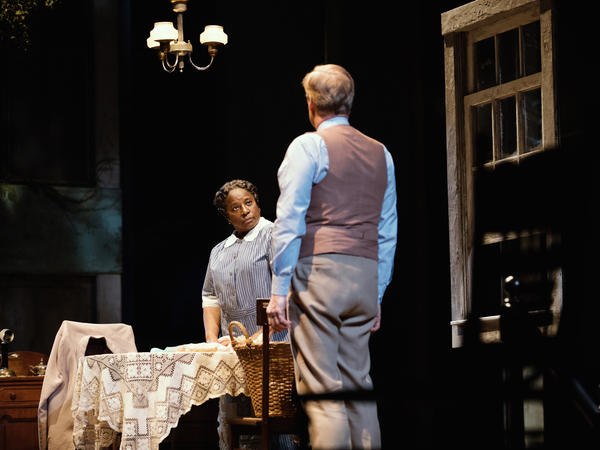 LaTanya Richardson Jackson, who plays the maid Calpurnia, said she consulted with playwright Aaron Sorkin about the roles of black characters in his adaptation of <em>To Kill a Mockingbird.</em>