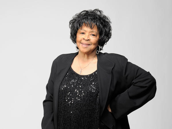 Yvonne Staples poses for a portrait at the NAACP Image Awards in Los Angeles in 2011.