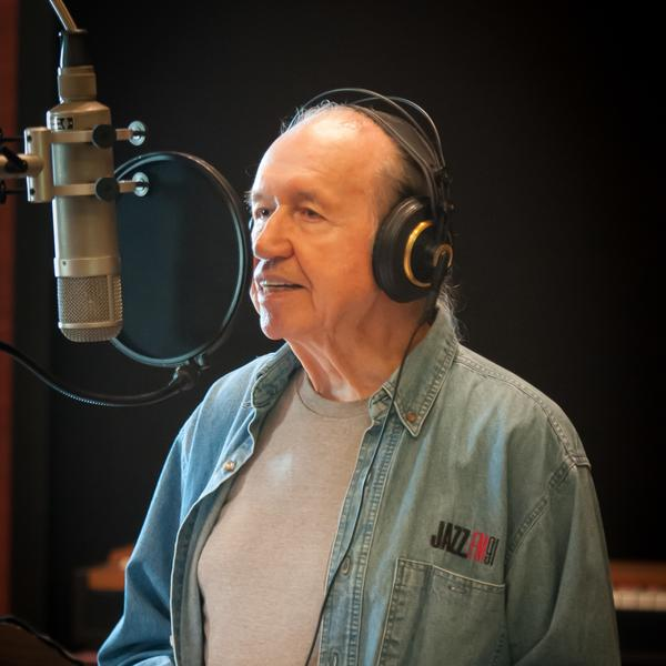 Bob Dorough during sessions for his 2012 <em>Duets</em> album.