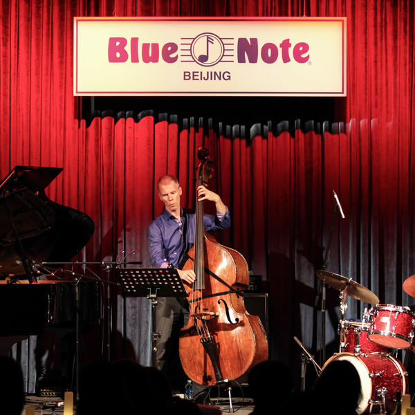The Fred Hersch Trio performs at Blue Note Beijing on Oct. 28, 2016.