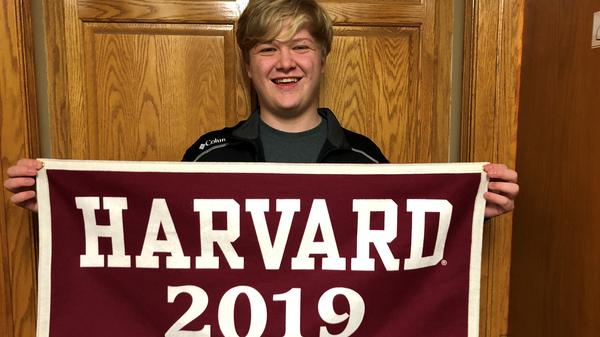 "Braxton Moral is scheduled to receive a high school diploma from Ulysses High School and a bachelor's degree from Harvard. ""It's not as hard as you think; it's just an efficient use of time,"" he says."