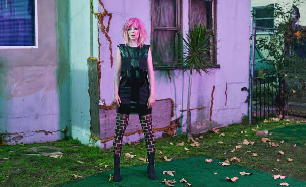 Shirley Manson of Garbage. The band's latest album is <em></em><em>Strange Little Birds</em>.