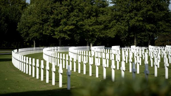 The American Military cemetery in Margraten, Netherlands, where David McGhee's grandfather, Sgt. Willie F. Williams, is buried.