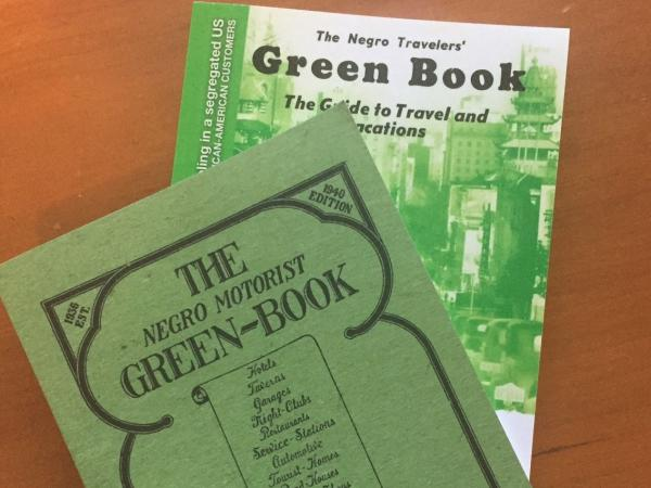 Contemporary reprints of original Green Books from 1940 (front) and 1954.