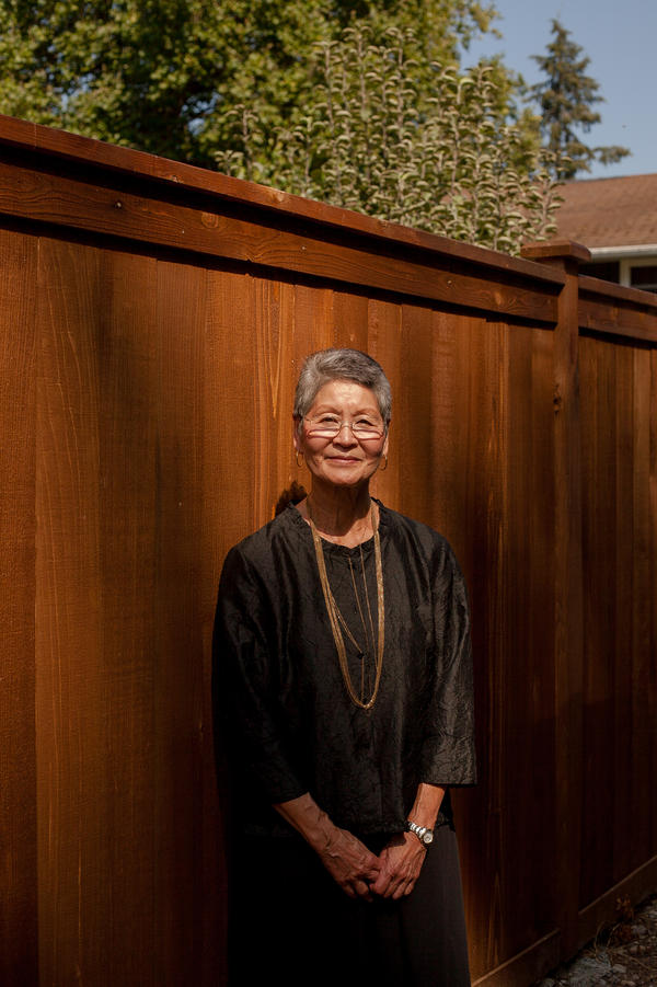 """""""I think we have to be watchful,"""" says Sharon Sakamoto, a retired attorney who fears the U.S. government may misuse information collected by the Census Bureau."""