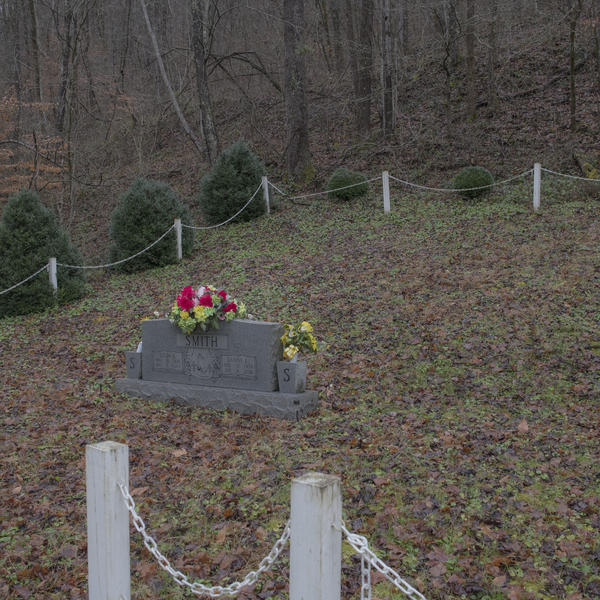 Smith has a plot picked out for himself in the family cemetery on his property, behind the gravestone of his parents.