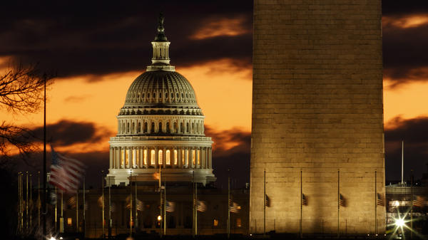 The U.S. government has partially shut down; more than 800,000 federal workers are affected.