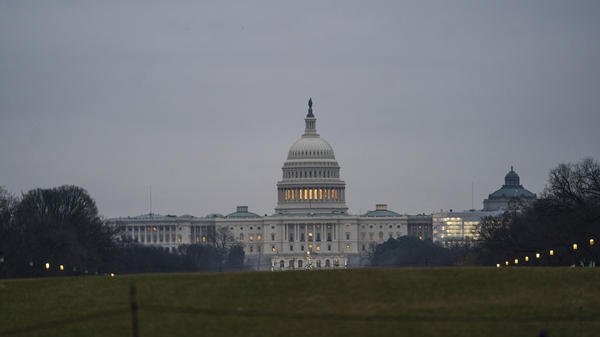 The U.S. Capitol on Monday as a partial government shutdown stretches into its second week. A high-stakes move to reopen the government will be the first big battle between the incoming Democratic House majority and President Trump.