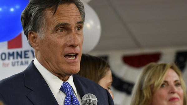 """Sen.-elect Mitt Romney says President Trump """"has not risen to the mantle of the office."""""""