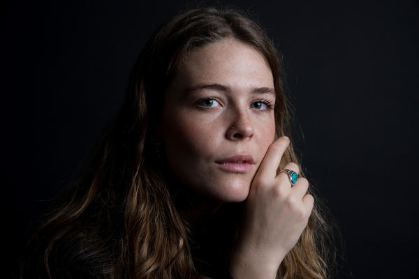 """I sort of became this cocktail party version of myself where I felt like I had to play the role of 'happy girl',"" Maggie Rogers says."