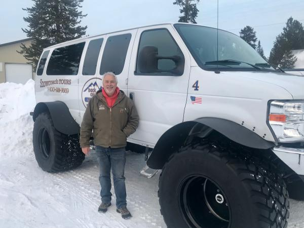 Jerry Johnson owns a business that rents snowmobiles and sends seven guided tours a day into Yellowstone National Park in the winter. His company is paying about $300 a day to help keep roads open and groomed during the partial federal government shutdown.