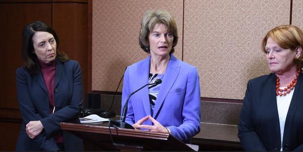 U.S. Senator Lisa Murkowski (R-AK) addresses a recent report on missing and murdered indigenous women.