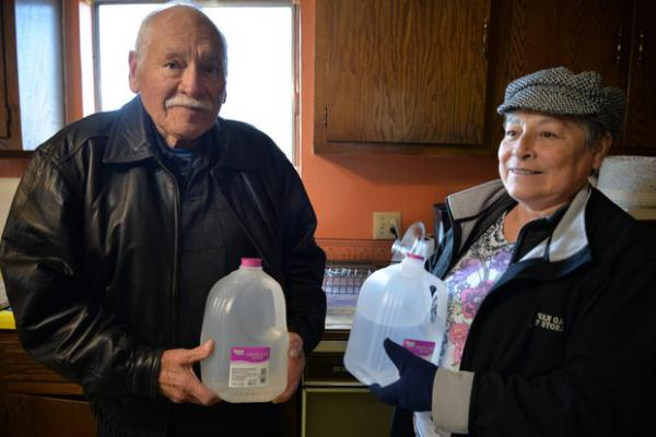 <p>Martin Yanez and his sister Rosalinda Guillen live in the Yakima Valley near a large dairy. Their well water has high levels of nitrates, which can cause health problems. Boiling water with high levels of nitrates actually concentrates the contamination. So the siblings are left with bottled water as their only option for safe drinking water. </p>