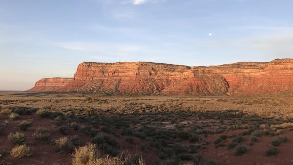 Bureau of Land Management land in the southern Utah desert. The partial federal government has furloughed thousands of federal land agency workers, leaving work on critical public land projects mostly stopped.