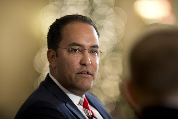 U.S. Rep. Will Hurd at a Texas Tribune event in December 2014.