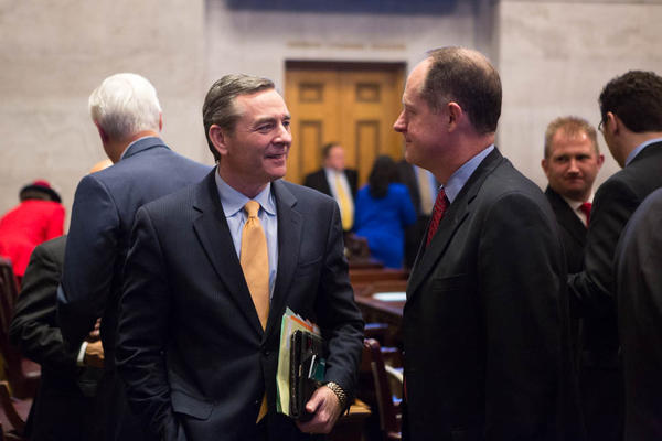 Glen Casada called on Democrats and Republicans to work in a bipartisan way throughout the new legislative session.