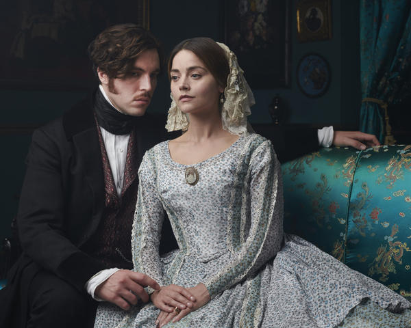 "Season 3 of ""Victoria"" premieres Sunday, Jan. 13, on PBS Masterpiece. Shown from left to right: Tom Hughes as Prince Albert and Jenna Coleman as Queen Victoria. (Courtesy of ITV Plc for Masterpiece)"
