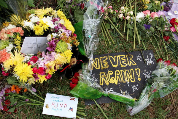 Students will be encouraged to participate in a community service project on the first anniversary of the shooting that claimed 17 lives at Marjory Stoneman Douglas High School.