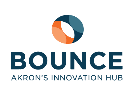 The logo for Bounce Innovation Hub, which is launching an accelerator program Jan. 14.