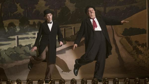 Steve Coogan and John C. Reilly star as the comedy duo Laurel and Hardy in the film <em>Stan & Ollie. </em>