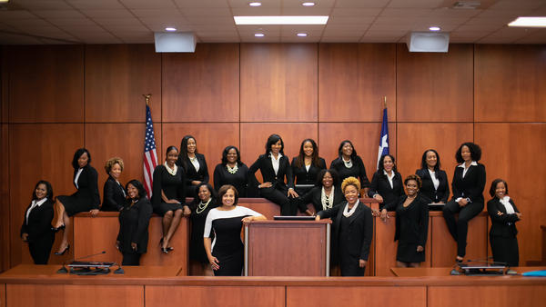 "Harris County, Texas, one of the most diverse urban areas of the country, now has 19 African-American women on the bench. The group calls itself ""Black Girl Magic."""