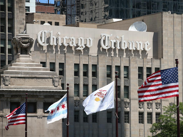Justin Dearborn, Tribune Publishing's chairman and CEO, and Ross Levinsohn, CEO of the company's interactive division, are leaving after a series of controversies and a failure to sell the company.