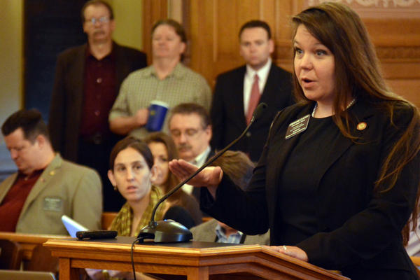 Kansas state Sen. Stephanie Clayton was elected as a Republican in Nov., 2018, but has since left and joined the Democrats. Two other former Republicans, Sen. Dinah Sykes and Sen. Barbara Bollier, have done the same.