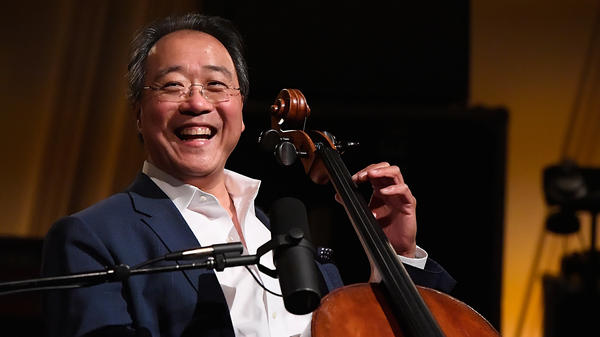 Yo-Yo Ma (shown here performing in Washington, D.C., last year) surprised unsuspecting Indians in Mumbai, India, on Tuesday with an impromptu roadside performance.