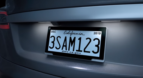 Digital license plates are coming to Michigan.