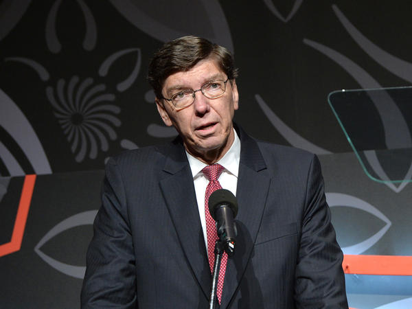 """""""It hurts to be disrupted, but it also creates markets,"""" says Clay Christensen, a Harvard University business professor who coined the term """"disruptive innovation."""""""