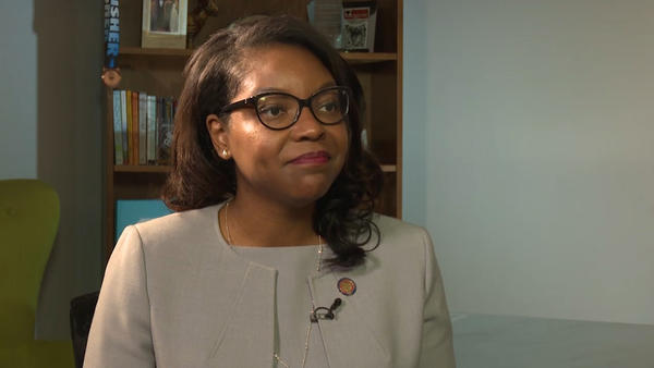 Rep. Emilia Sykes (D-Akron) is the Ohio House Democrats' first new leader in five years.