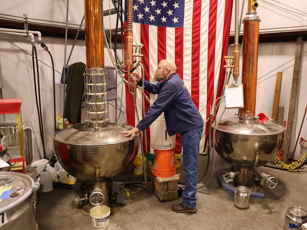 Sandstone Distillery owner John Bourdon wants his liquor to display the terroir of the grains it was made from.