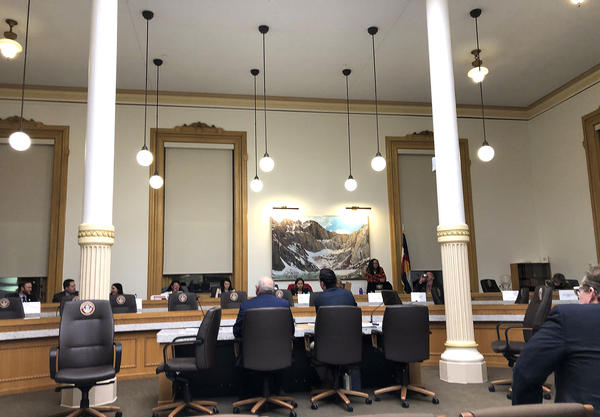 The Colorado House Health and Insurance Committee discusses a bill that would pursue a public insurance option. The bill passed out of committee 9-2.
