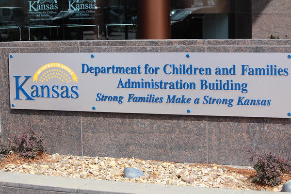 The Kansas Department for Children and Families office in Topeka. Governor Laura Kelly has asked the Legislature for millions of dollars to increase staff and put funds toward foster care prevention.