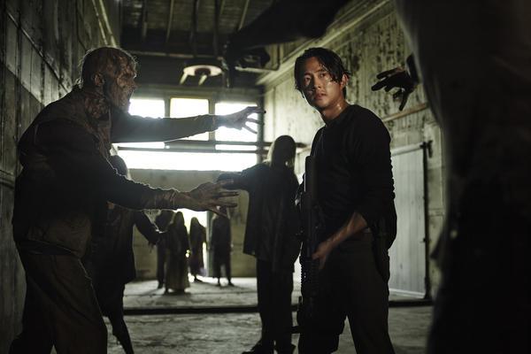 Steven Yeun as Glenn Rhee in AMC's <em>The Walking Dead.</em>