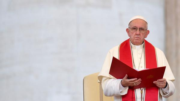 Pope Francis addresses the International Pilgrimage of the Ministrants last month in St. Peter's Square in the Vatican.